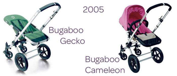 Bugaboo Gecko & Bugaboo Cameleon, rok 2005