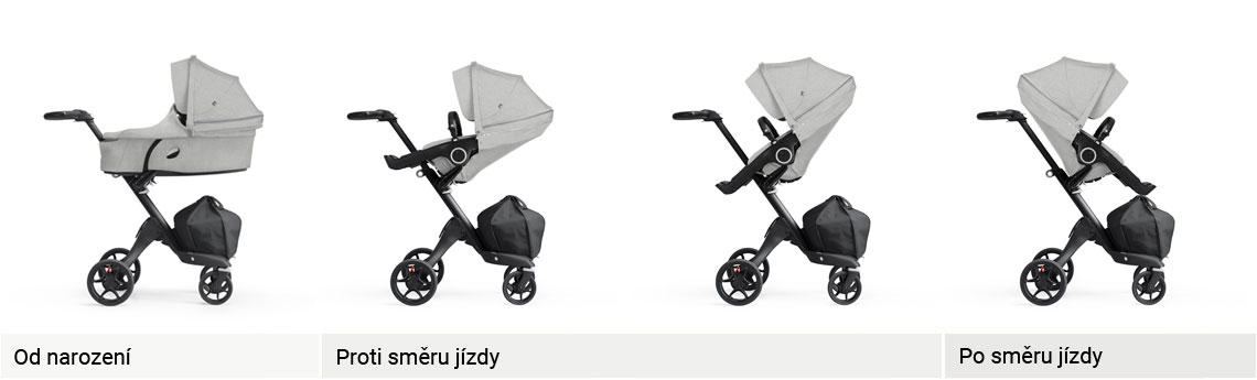 Stokke Xplory line up