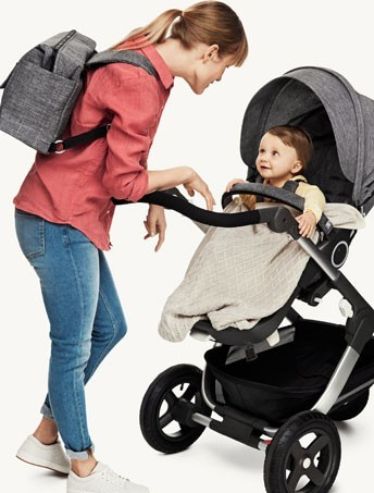 What's in a bag? Everything if you're out with your baby.