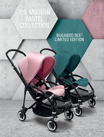 Bugaboo Bee3 Modern Pastel Collection