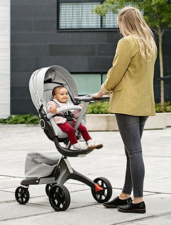 New wheels for iconic Stokke Xplory