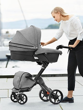 Stokke® Xplory® introduces the all Black Chassis